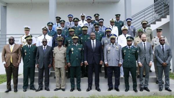 Côte d'Ivoire: Comme annoncé, l'école de guerre ouverte à Zambakro (Yamoussoukro)