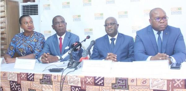 Côte d'Ivoire: Devant la chambre des notaires, Lassina Fofana de la CDC-CI et ses hôtes définissent  les bases  d'une collaboration