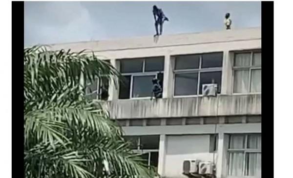 Côte d'Ivoire: Au campus de Cocody, poussé par une envie de se suicider, un étudiant sauvé in extremis par ses amis