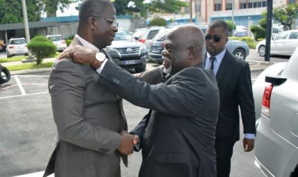 Côte d'Ivoire: Hien Yacouba fonde beaucoup d'espoir sur Philippe Légré pour l'aboutissement des dossiers relatifs aux projets de développement du Port