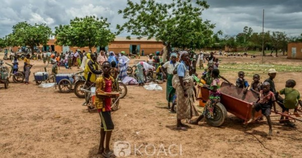 Burkina Faso: Pic de déplacements du fait de la violence