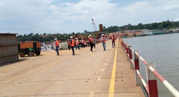 Côte d'Ivoire: Les travaux du 4è Pont reliant reliant la commune de Yopougon à celle du Plateau avancent correctement malgré quelques difficultés