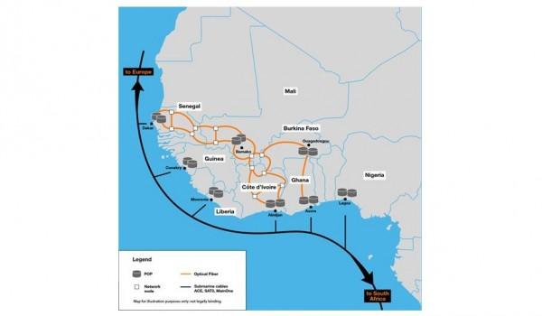 Côte d'Ivoire: Orange accélère le développement de la connectivité en Afrique avec un nouvea...
