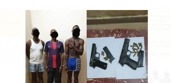 Côte d'Ivoire: A Guessabo, un dangereux groupe de braqueurs, ressortissants Burkinabè interpellés alors qu'ils avaient dans leur viseur une agence d'orange money