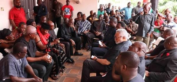 Ghana: Rawlings révèle une blessure qu'il soigne