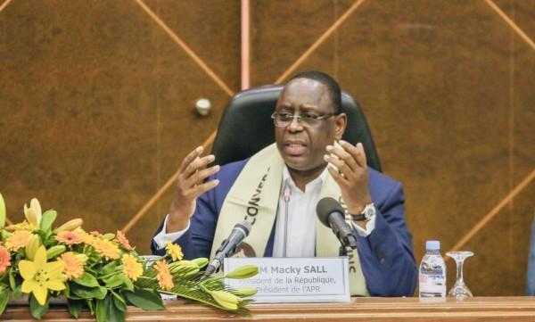 Sénégal:  Troisième mandat, le clin d'œil de Macky Sall à ses camarades de parti
