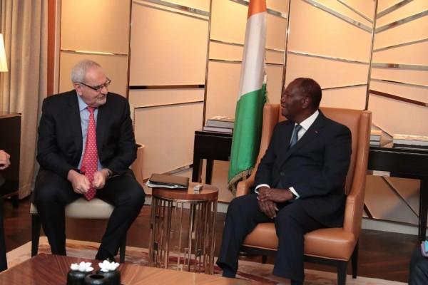 Côte d'Ivoire: A Berlin, Alassane Ouattara s'entretient avec le DG de la SFI et la DG du FMI