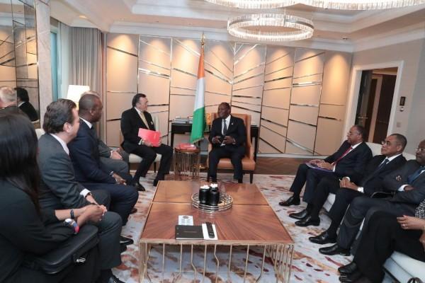Côte d'Ivoire: Avant de s'envoler pour Paris, à Berlin, Alassane Ouattara s'entretient avec...