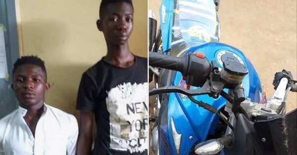 Côte d'Ivoire: Arrestation de deux individus qui effrayaient Yamoussoukro à moto