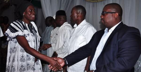 Côte d'Ivoire: Décès de l'ancien maire de Yopougon, Simone conduit une délégation au domicile du défunt pour apporter  le