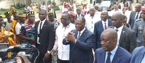 Côte d'Ivoire :  Depuis Yamoussoukro, Ouattara aux politiciens qui souhaitent une transition: «Les hommes politiques qui comptent sur l'armée pour faire une transition perdent leur temps »