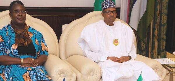 Nigeria-Liberia: Promesse de Buhari de « protéger » le Liberia
