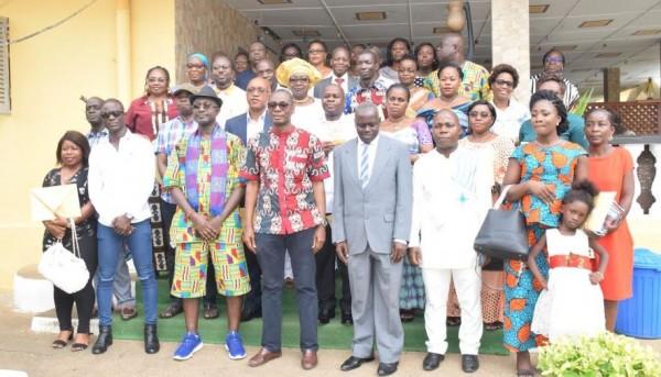 Côte d'Ivoire: Institut de Cardiologie d'Abidjan, les meilleurs agents, promus et retraités de l'année 2018 célébrés par la direction générale