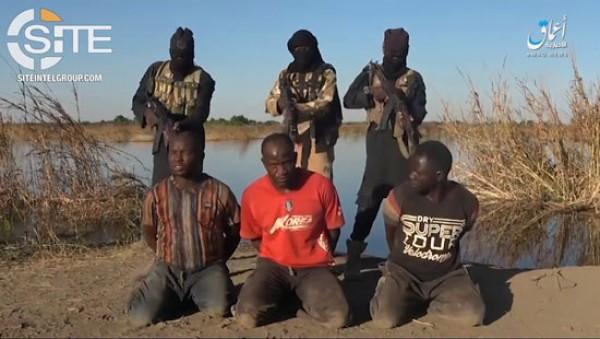 Nigeria: Des combattants de l'ISWAP publient une vidéo de l'exécution de deux soldats et un policier