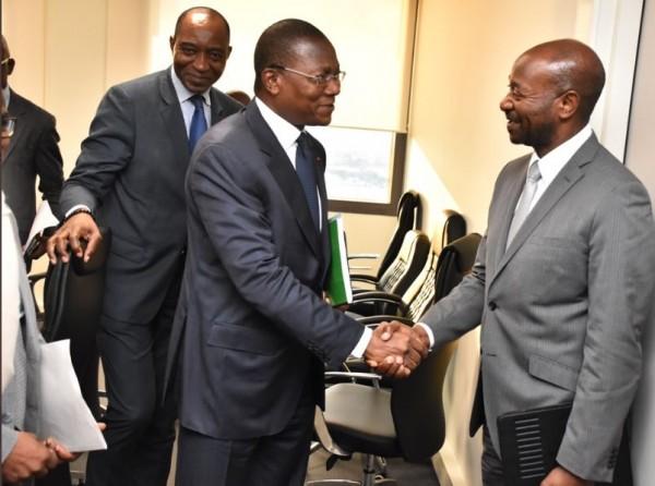 Côte d'Ivoire: Le Ministre de la Construction et la BAD discutent du Contrat de bail pour l'occupation de la Tour B