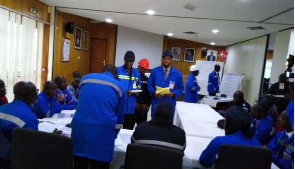 Côte d'Ivoire: Simulation d'incendie à GESTOCI, pour prévenir tous les risques !