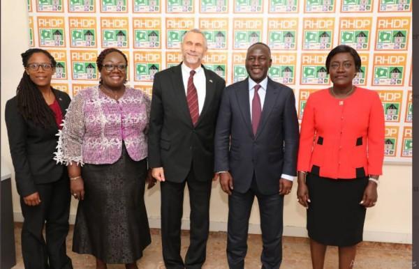 Côte d'Ivoire: S.E.M. Richard Keith Bell à propos du processus électoral : « Nous ne sommes pas neutres dans notre conviction »
