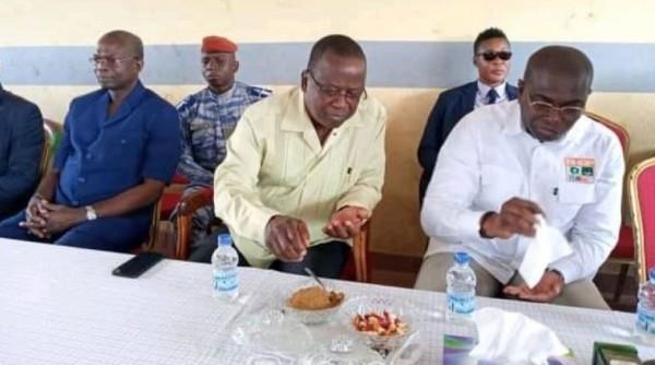 Côte d'Ivoire: Face à la chefferie Kroumen de San-Pédro, Ahoussou déclare «quand on a connu des moments de braise, on sait apprécier la paix»