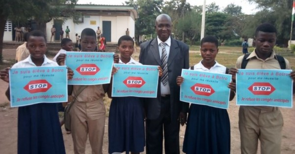 Côte d'Ivoire: Pour empêcher les congés anticipés à Botro, des jeunes initient une tournée de sensibilisation dans les écoles