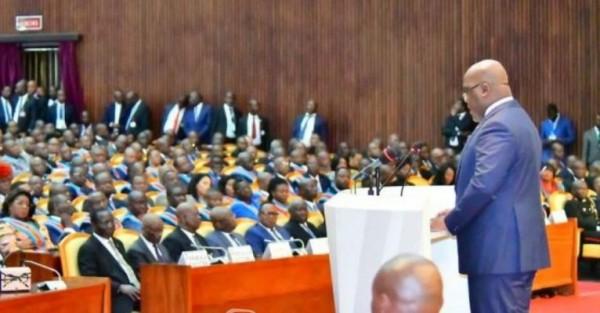 RDC: Au Parlement, Felix Tshisekedi défend  son budget de 10 milliards de dollars pour 2020