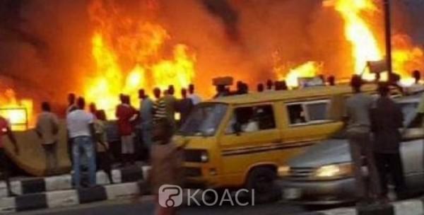 Nigeria: 04 morts dans l'incendie d'un oléoduc, attaqué par des voleurs près de Lagos