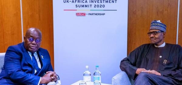 Nigeria: Fermeture des frontières, Buhari révèle les graves causes à Akufo-Addo