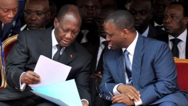 Côte d'Ivoire: Le « jeune homme » Guillaume Soro redevient le « fils » d'Alassane Ouattara