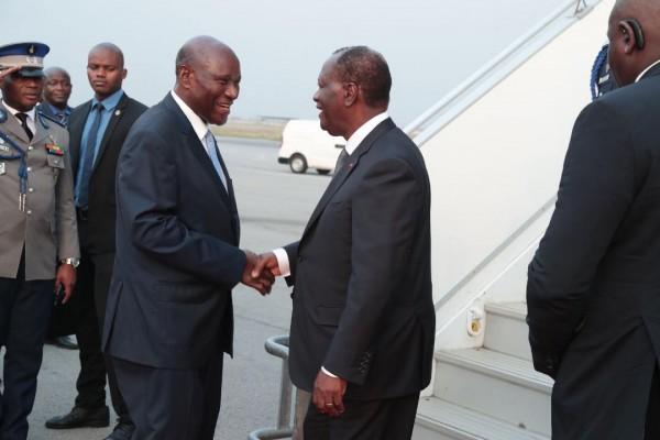 Côte d'Ivoire: Après sa visite d'Etat en Grande Bretagne, Alassane Ouattara de retour à Abid...