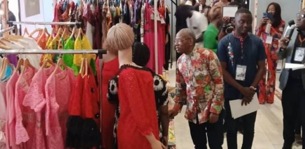 Côte d'Ivoire : Ouverture à Abidjan du salon africain du prêt-à-porter, un créateur exhorte les aînés à aider les jeunes