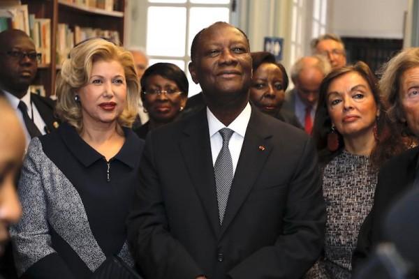 Côte d'Ivoire :  Alassane Ouattara inagure la Bibliothèque Félix Houphouët-Boigny à Paris et...