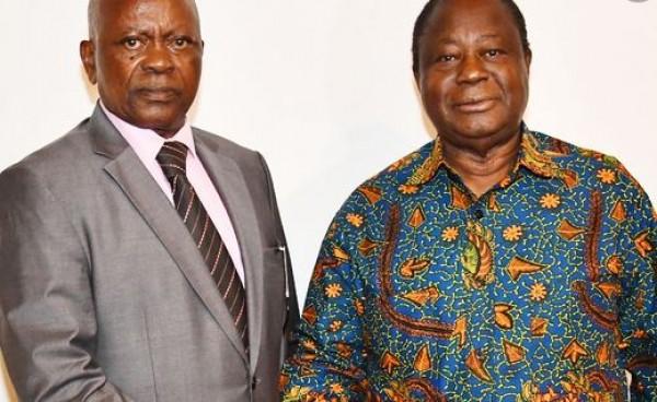 Côte d'Ivoire : Bédié reçoit Anaky à Abidjan, communiqué du MFA