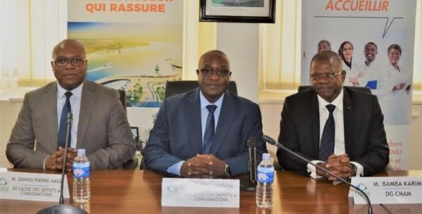 Côte d'Ivoire : Pour la gestion sécurisée de ses avoirs, la CNAM sollicite la caisse des dépôts et de consignation
