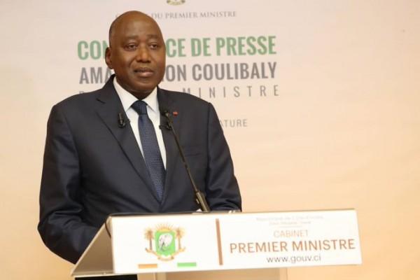 Côte d'Ivoire :  Amadou Gon a l'opposition : «Les enjeux politiques ne seront en aucun cas un obstacle à la construction de notre pays, et ce, pour les générations futures »