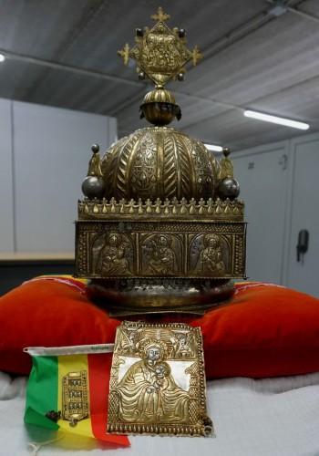 Ethiopie : Cachée pendant 21 ans aux Pays-Bas, une couronne restituée aux autorités