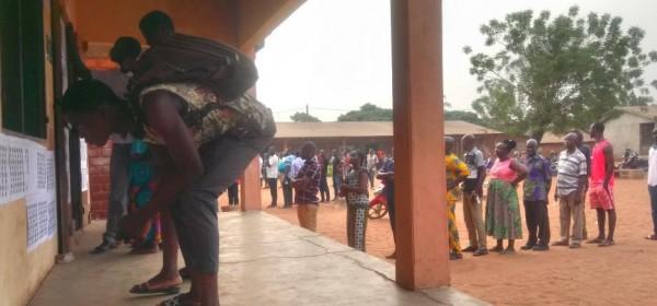 Togo : Présidentielle, jour du vote, les électeurs aux urnes