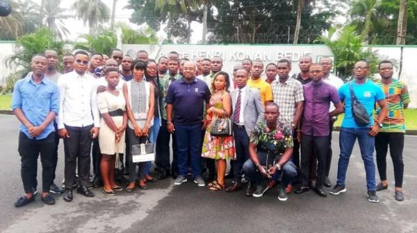 Côte d'Ivoire : À Cocody, Olivier Akoto demande aux nouveaux majeurs de positionner Bédié à la tête de l'Etat en 2020