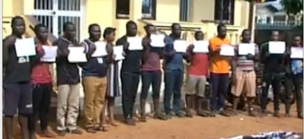 Cameroun : Un gang de 13 redoutables malfrats mis aux arrêts