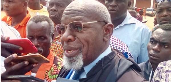 Côte d'Ivoire : Bouaké, procès de Mangoua renvoyé, Maître Adjé: « Nous sommes rentrés dans une phase d'usure qui est inadmissible »