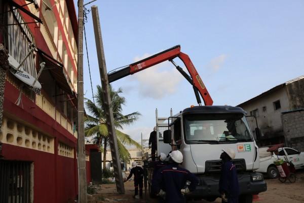 Côte d'Ivoire : Travaux de maintenance au poste P1-098 de Cocody-Abatta, communiqué de la CIE