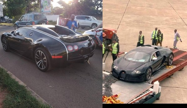 Zambie : L'arrivée d'une Bugatti Veyron à l'aéroport de Lusaka fait le buzz