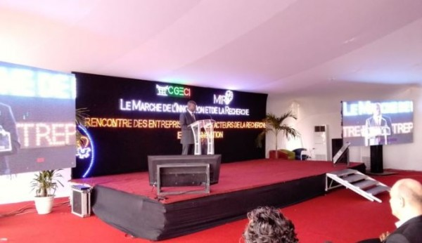 Côte d'Ivoire : Université de Cocody, ouverture de la première édition du Marché de l'innovation et de la recherche de la CGECI