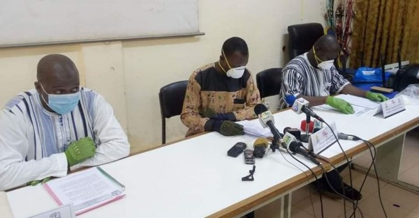 Burkina Faso : Coronavirus, 222 cas confirmés, 12 décès et 23 guérisons