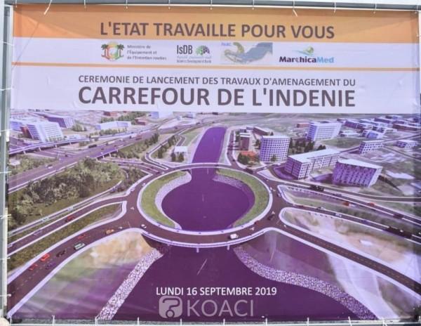 Côte d'Ivoire : Travaux d'aménagement du carrefour de l'Indénié, des perturbations du trafic pourraient être observées pendant 10 mois