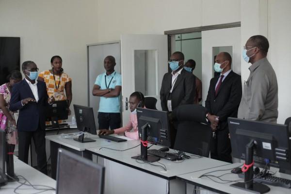 Covid-19 : Orange Côte d'Ivoire et le gouvernement Ivoirien mettent en place un « Centre d'I...