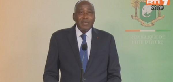 Côte d'Ivoire : Reprise économique après le Coronavirus, Amadou Gon rassure sur les médicaments et annonce un plan de soutien de 1700 milliards de Fcfa