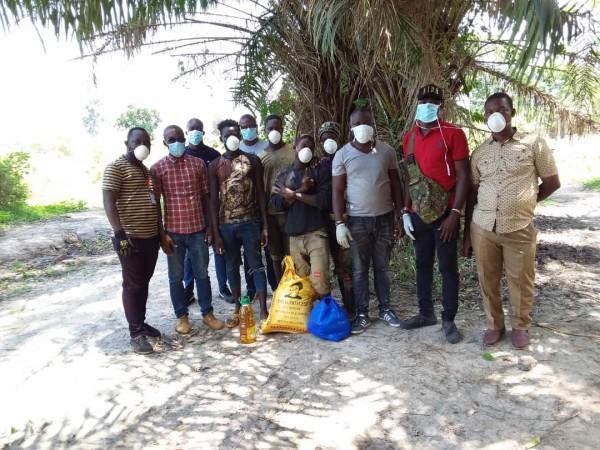 Côte d'Ivoire : Covid-19, les miniers saluent les actions du gouvernement et sensibilisent dans 4 régions les populations