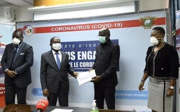 Côte d'Ivoire : Riposte contre le Covid-19, 8130 litres de carburant offerts à l'INHP, au SMIT et au SAMU