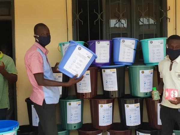 Côte d'Ivoire : Le conseil national des jeunes de Côte d'Ivoire sensibilise sur le Covid-19