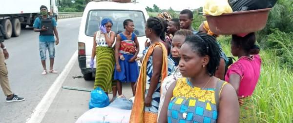 Côte d'Ivoire : Traque contre ceux qui tentent de contourner les corridors de l'isolement d'Abidjan par des voies secondaires