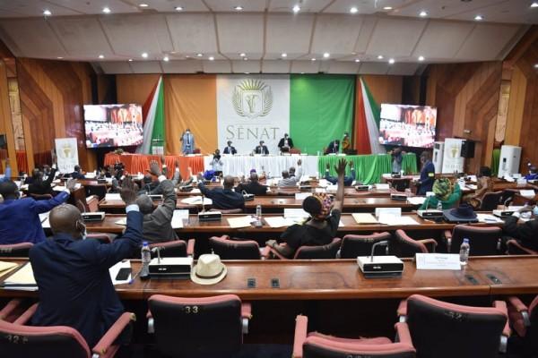 Côte d'Ivoire : 10 projets de lois adoptés en plénière par le Sénat, le Groupe PDCI « dénonce la propension à faire des ordonnances le mode de gestion de l'Etat »